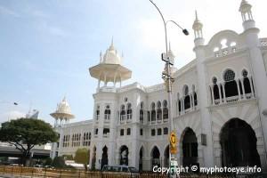 Kuala Lumpur Railway Station located at Jalan Sultan Hishamuddin