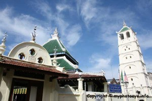 The Masjid Kampong Kling is one of the oldest mosques in Malaysia and built in 1748.