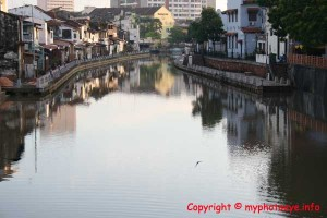 Malacca river at early morning