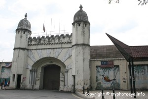 Pudu jail main enterance