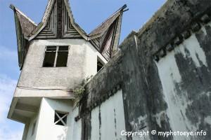 Prison guard house
