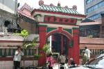 Si Ya temple front door