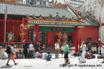 Kuan Ti Temple located on Jalan Tun H. S. Lee nearby China Town